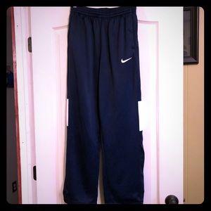 Men's Nike Dri fit Navy warm up pants